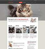Animals & Pets Website  Template 45894