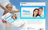 Premium Moto CMS HTML-mall för försäkring New Screenshots BIG
