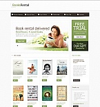 Books Moto CMS HTML  Template 45899