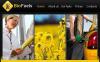 Biofuel Facebook HTML CMS Template New Screenshots BIG