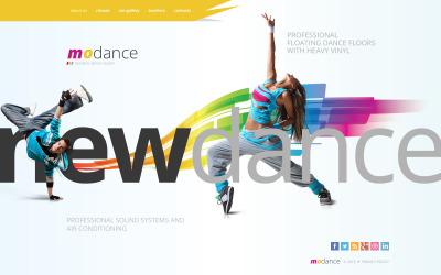 Dance Studio Šablona Webových Stránek