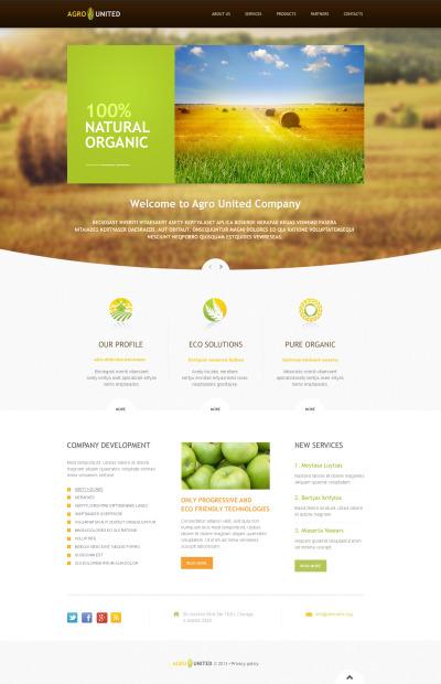 Agriculture ZenCart Website Themes