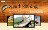 Fishing Facebook HTML CMS Template New Screenshots BIG
