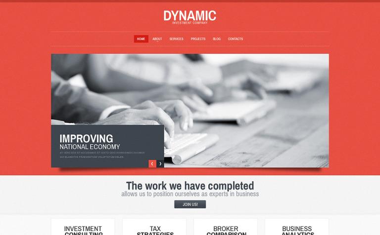 Harmonic Consulting WordPress Theme #45824