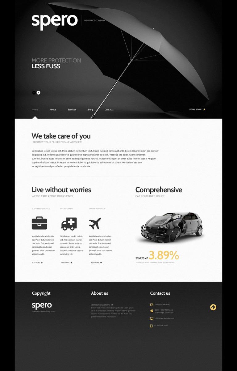 Insurance Responsive WordPress Theme New Screenshots BIG