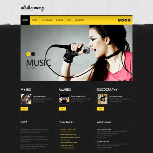 Alisha Mong - WordPress Template based on Bootstrap