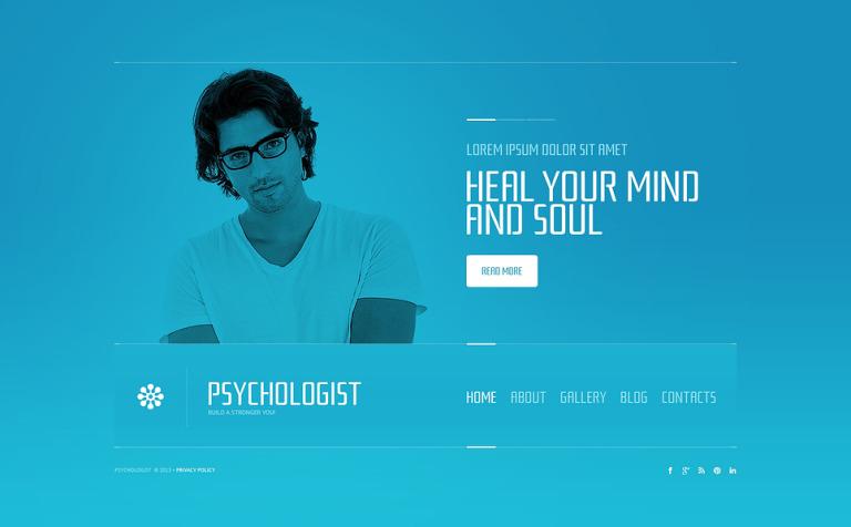 Psychologist Website Template