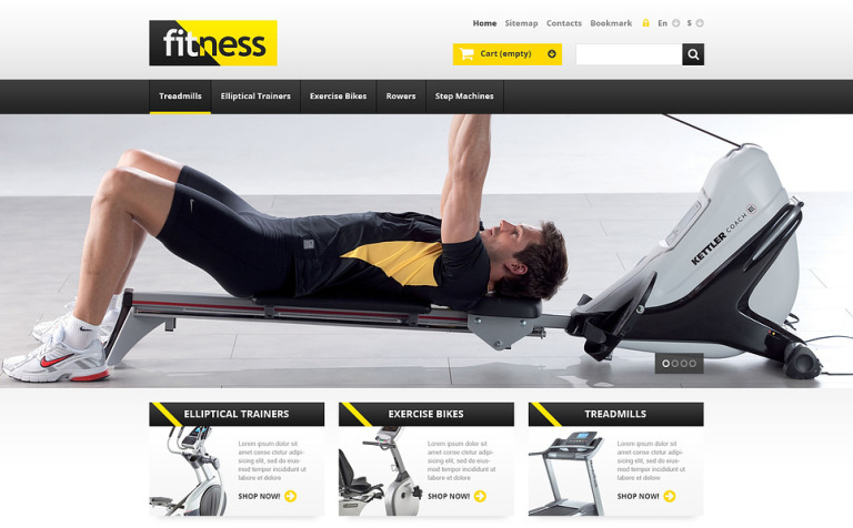 Responsive Fitness Store PrestaShop Theme