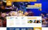 Responsive Website template over Duiksport  New Screenshots BIG