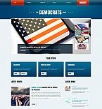 Politics Moto CMS HTML  Template 45902
