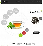 Food & Drink Facebook HTML CMS  Template 45920