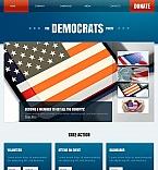 Facebook HTML CMS  Template 45922
