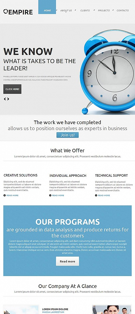 ADOBE Photoshop Template 45931 Home Page Screenshot