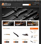 Military OpenCart  Template 45944