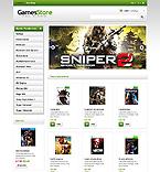 Games PrestaShop Template 45946