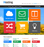 Web Hosting PrestaShop Template 45951