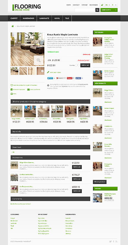 ADOBE Photoshop Template 45953 Home Page Screenshot