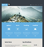 Travel Website  Template 45959