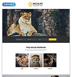 Animals & Pets Website  Template 45961