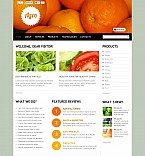 Agriculture Flash CMS  Template 45969