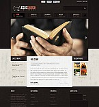 Religious Flash CMS  Template 45972