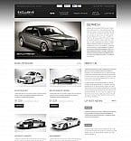 Cars Flash CMS  Template 45979
