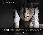 Art & Photography Flash CMS  Template 45980