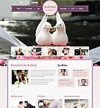 Wedding Flash CMS  Template 45982