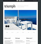 Real Estate Flash CMS  Template 45984