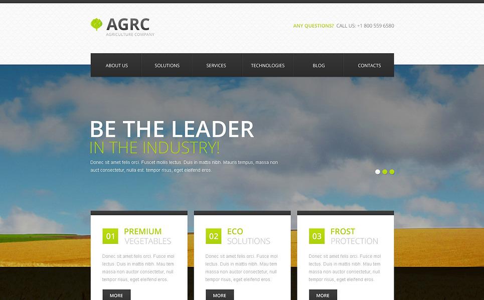 Responzivní Šablona webových stránek na téma Ovoce New Screenshots BIG