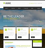 Agriculture Website  Template 45996