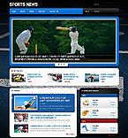 Sport Website  Template 45998