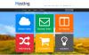 Адаптивный PrestaShop шаблон №45951 на тему хостинг New Screenshots BIG