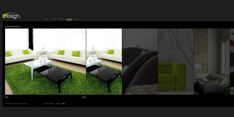 Flash CMS шаблон на тему внутрішній дизайн New Screenshots BIG
