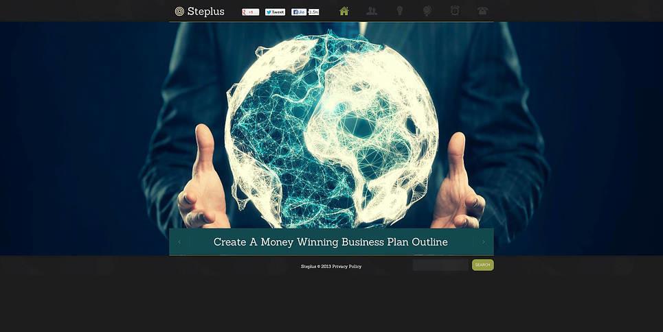Flash CMS Vorlage für Dienstleistungen-für-Händler  New Screenshots BIG