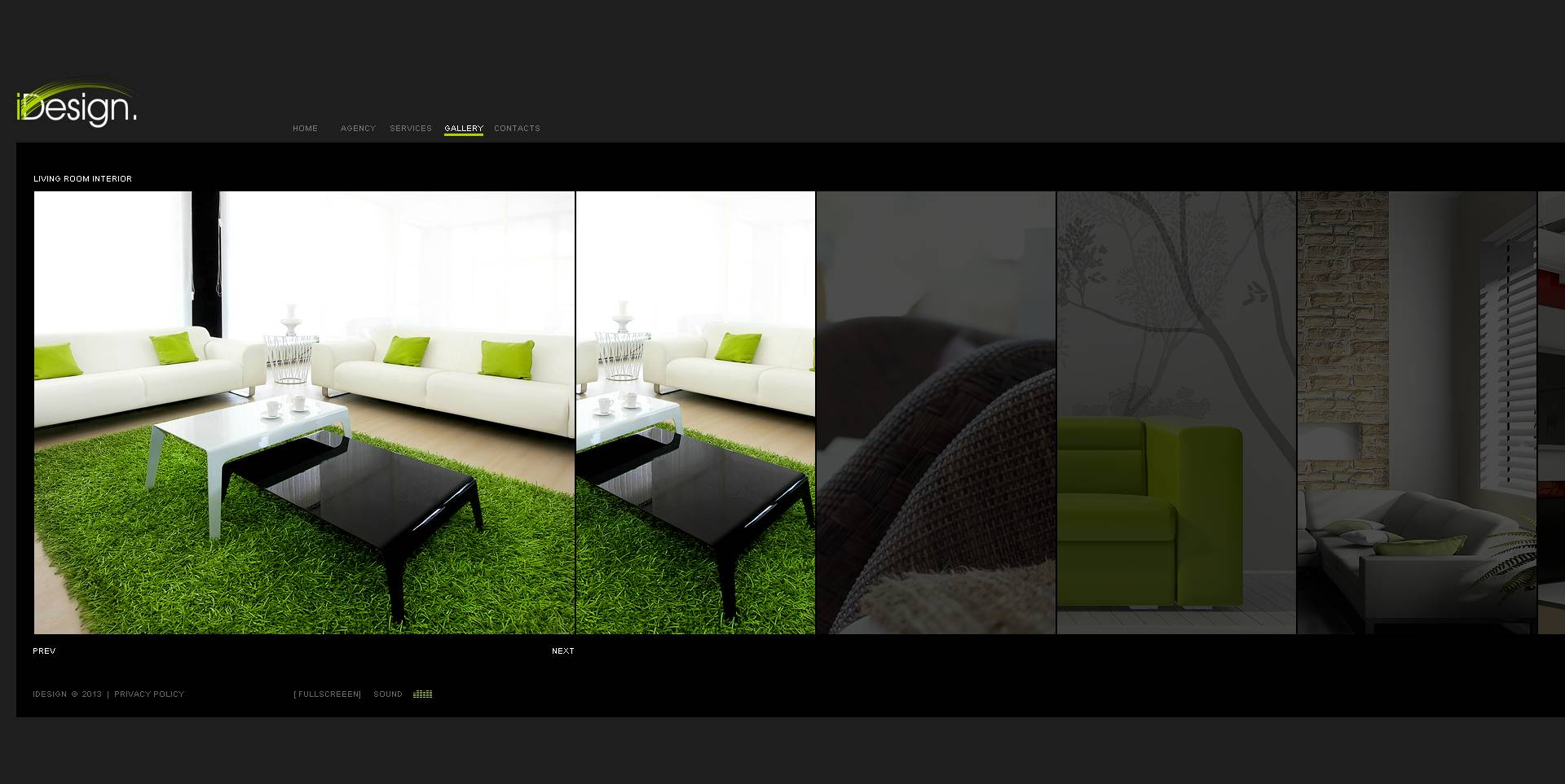 Interior Design Flash Cms Template 45968