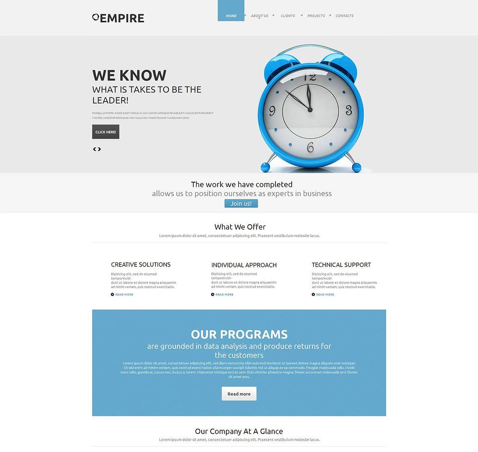 Investment Company Moto CMS HTML Template New Screenshots BIG