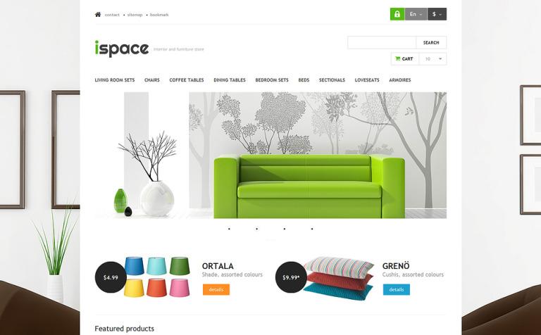 Ispace PrestaShop Theme