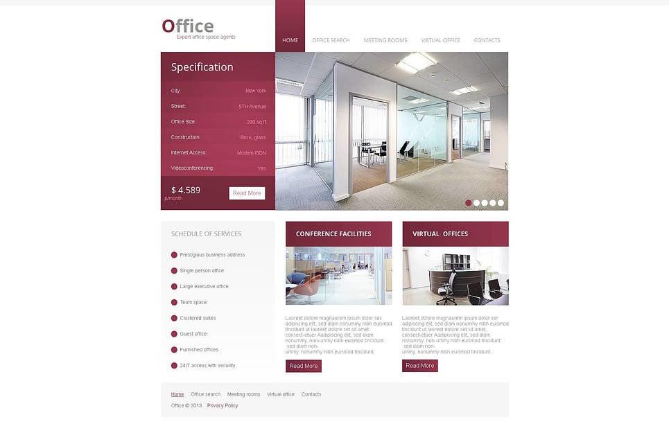 Office Moto CMS HTML Template New Screenshots BIG