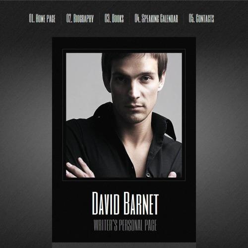 David Barnet - Facebook HTML CMS Template