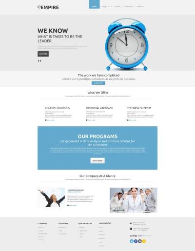 Plantilla Moto CMS HTML #45912 para Sitio de  para Sitio de Sociedades de inversión