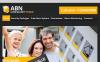 Szablon Facebook HTML CMS #45917 na temat: ślusarz New Screenshots BIG