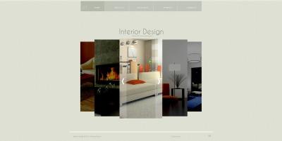 Interior Design Tema Flash CMS