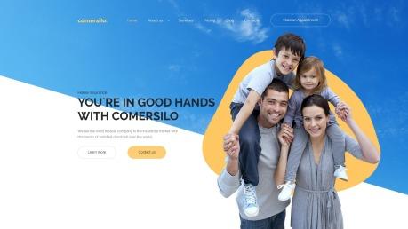 Insurance Company Website Design - Comersilo - image