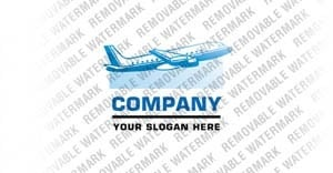 Airline Tickets Logo Template vlogo