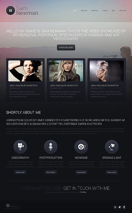 Website Template #46000