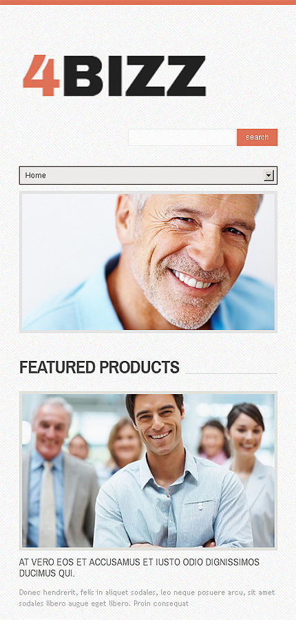 Drupal Template 46008 Main Page Screenshot