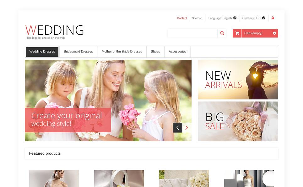 """PrestaShop Theme namens """"Responsive Hochzeitsshop"""" New Screenshots BIG"""