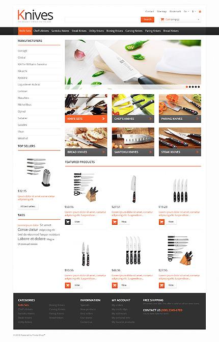 ADOBE Photoshop Template 46012 Home Page Screenshot
