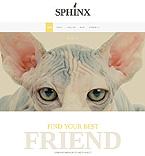 Animals & Pets Website  Template 46031